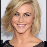 Moderne bob frisuren für Haare blonde Frau