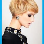 Moderne frauen frisuren kurz dickes haar