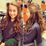 Lange braun frisuren für dickes haar