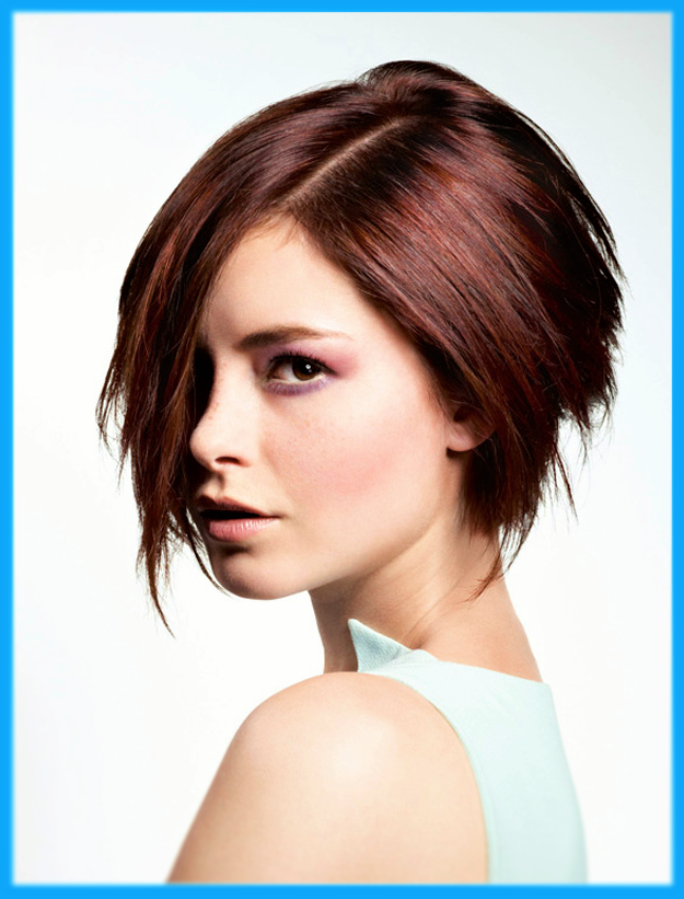 Moderne Frisuren Kurze Haare Braune Bob Stylen Frisur Ideen