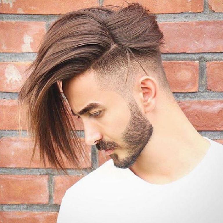 neue mode frisuren männer mittellang undercut   frisur ideen