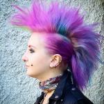 Punk frisuren frau lange haare selber machen
