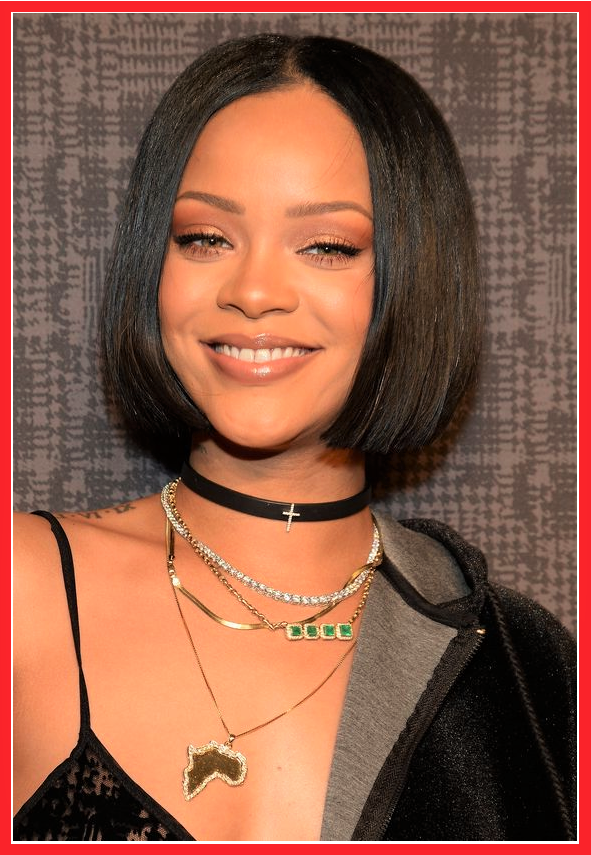 rihanna bob frisuren kurz nachmachen frisur ideen. Black Bedroom Furniture Sets. Home Design Ideas