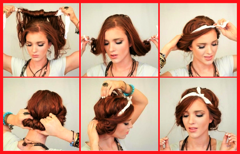 Schone Einfache Frisuren Mit Haarband Anleitung Zum Selber Machen