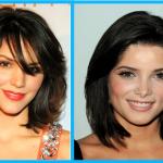 Frisuren feines für schwarzes haar mittellang