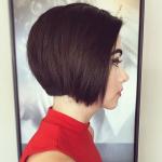 Schöne Frisuren mit Kurzen Haaren Schwarz Bob Stylen