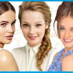 Einfache und gute Frisuren konfirmation lange haare bilder