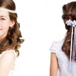 Frisuren Kommunion Lange Haare Geflochten Bilder