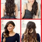 Tolle ideen interessanten frisuren mit langen haare und pony