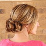 Lässige frisuren mittellang blond haare für frauen