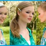 Schöne frisuren für die schule mit haarband