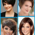 Kurze Frisuren ovales gesicht für Frauen über 40