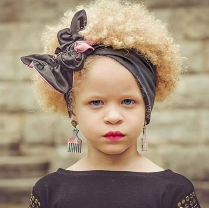 tolle ideen afro frisuren für junge mädchen | frisur ideen