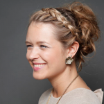 Einzigartig und interessant flech frisuren hochgesteckt für lange Haare mit Zöpfen
