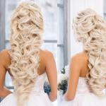 Bilder mit attraktiv frisuren locken lang hochzeit für Blondinen