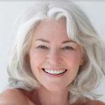 Partei frisuren für ältere damen mit grau mittellange haare