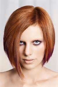 Frauen Frisur Asymmetrisch