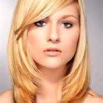 Frisur Mittellang Dünnes Haar Rundes Gesicht