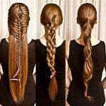 Lange Haare Frisur Geflochten