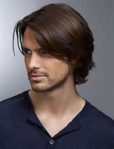 Frisuren Männer Lang Nizza Und Geeignet Für Glattes Haar