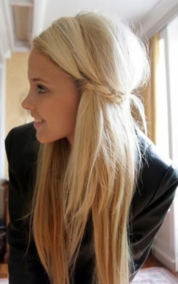 Leichte Frisuren Für Lange Haare