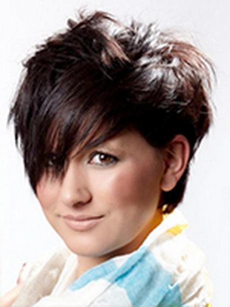 Trendige Frisuren Für Runde Gesichter