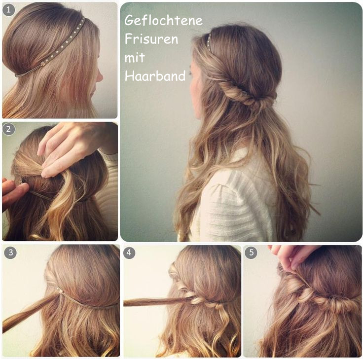 Frisuren Mit Haarband Anleitung