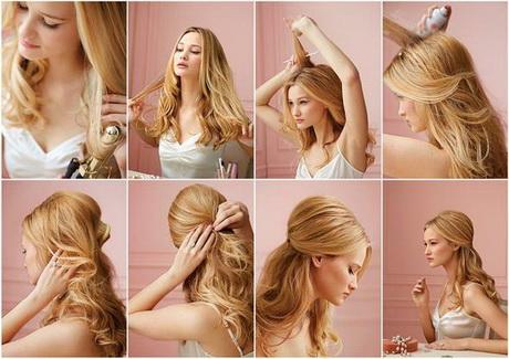 Schnelle Frisuren Für Lange Haare Anleitung