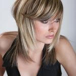 Halblange Frisuren Blond