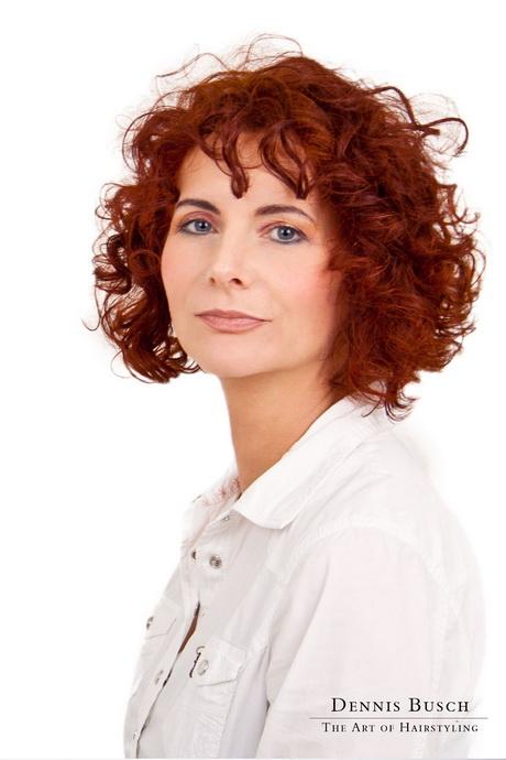 Locken Frisuren Mittellang