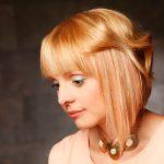 Asymmetrische Frisuren Blond
