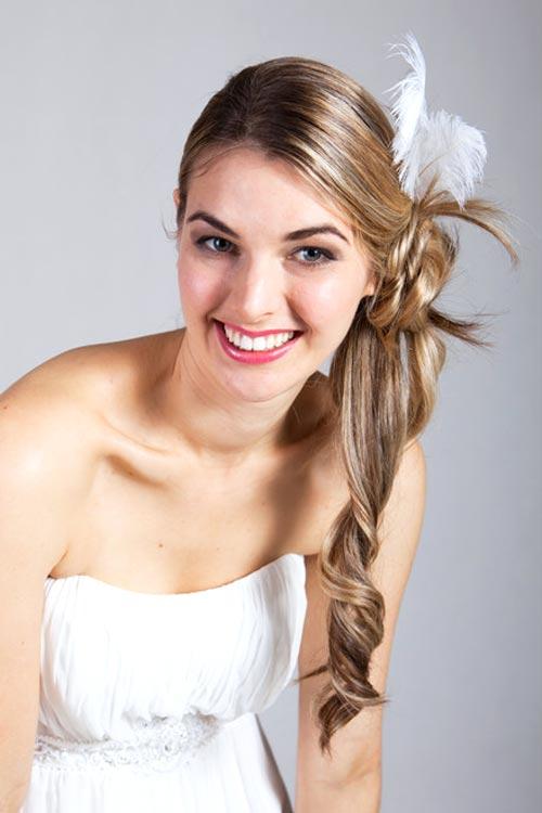Halb Hochgesteckte Frisuren Hochzeit Frisur Ideen