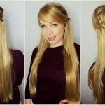 Einfache Frisuren Für Lange Haare Zum Selber Machen