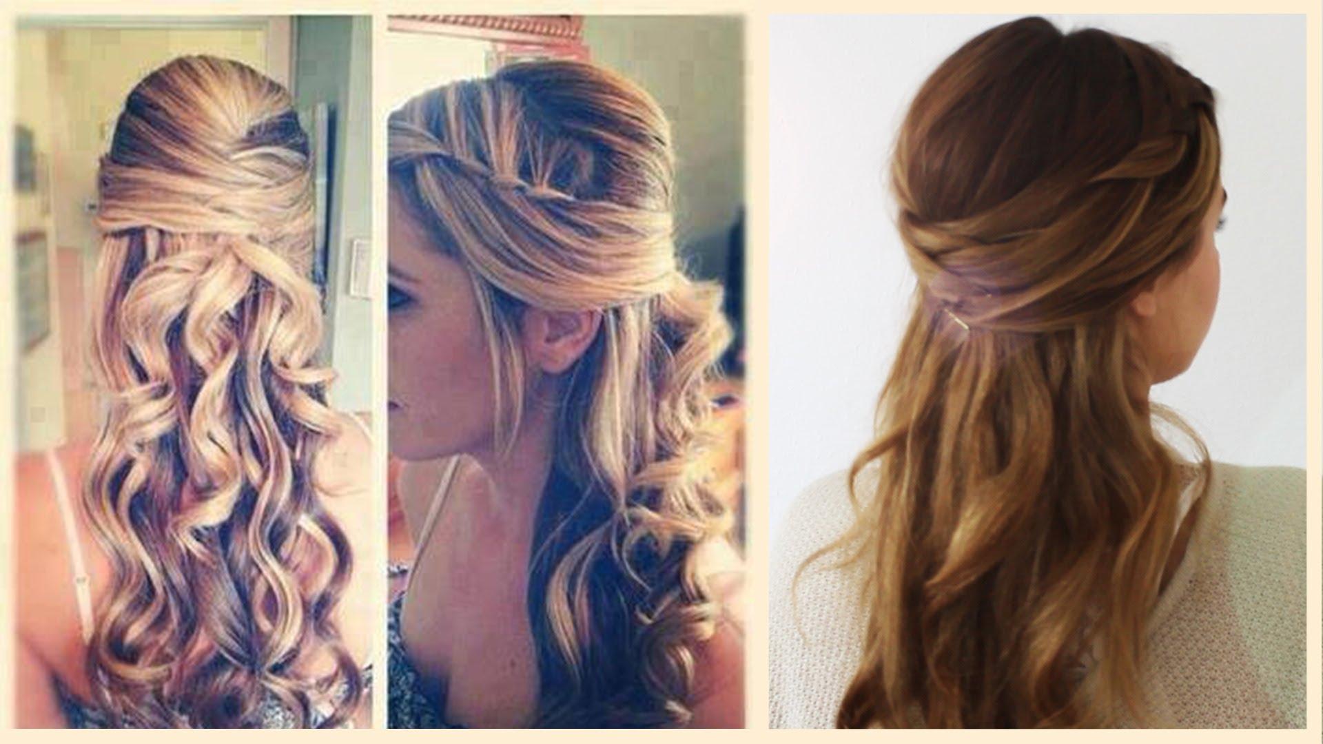 Einfache Frisuren Für Mittellanges Haar Zum Selber Machen