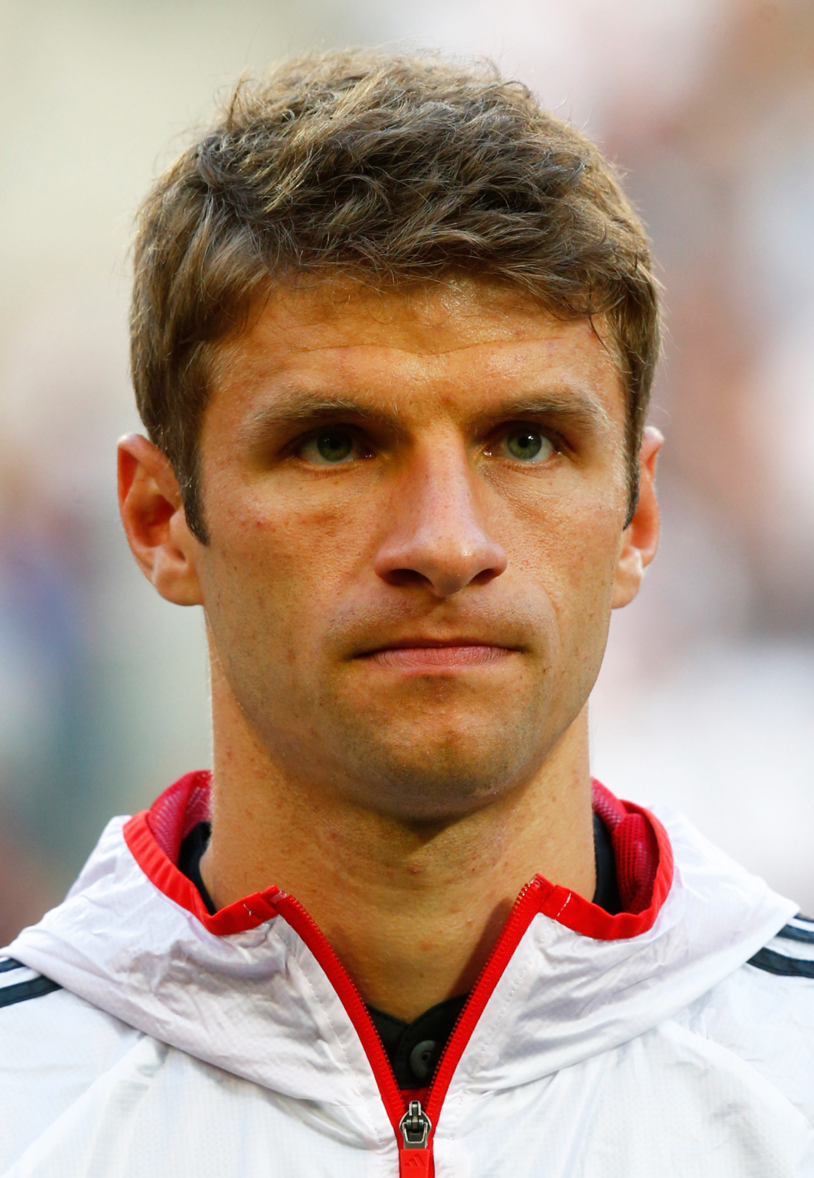 Germany's Mueller Is Pictured Before Their International Friendly Soccer Match Against Cameroon In Moenchengladbach