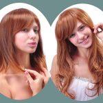 Frisuren Vorher Nachher Lange Haare