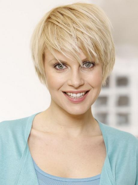 Fransige Frisuren Kurz Und Blond Haare