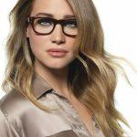 Frisuren Für Dünne Haare Und Brille Lange Blonde Haare, Vermittelt Es Den Eindruck Von Gallien Und Cool
