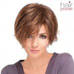 Frisuren Mittellang Stufig Braun Dicken Welliges Haar, Geeignet Auch Für Lockiges Haar Stile Und Kurze