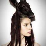 Verrückte Frisuren Mittellang Antike Und Coole Modelle Fur Damen