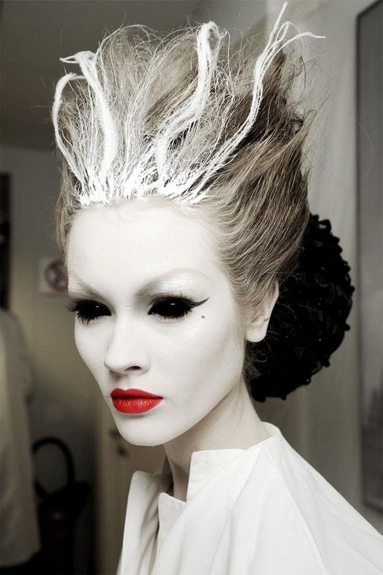 Coole Halloween Frisuren Maquillage Elegant Und Attraktiv