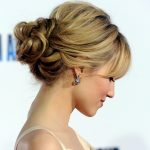 Elegante Frisuren Einfach Einfach, Sich Zu Tun Und Schnell, Geeignet Für Lockiges Und Gewelltes Haar Blonde