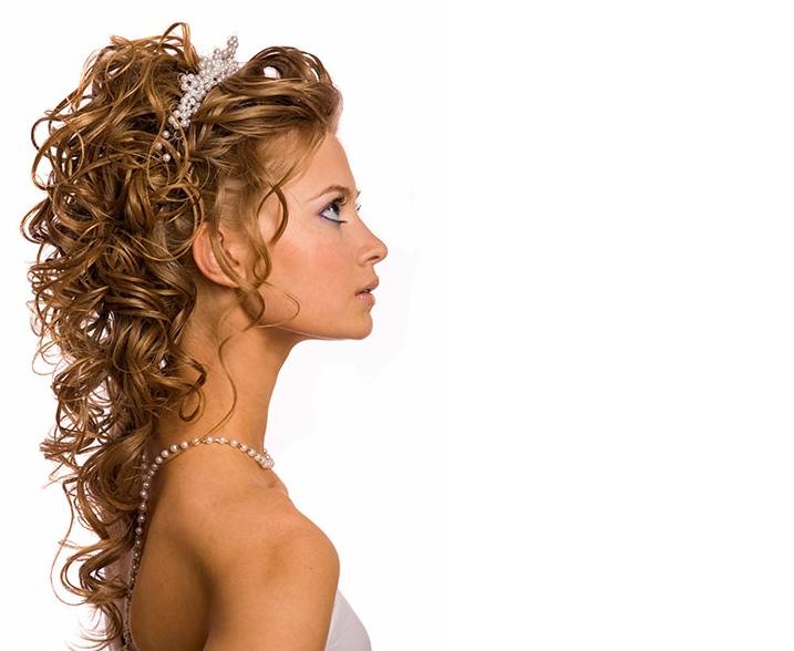 Frisuren Hochzeit Lange Haare Die Trendy Und Für Haarfarbe Blond, Wellig Und Elegant Geworden