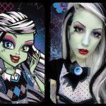 Halloween Frisuren Vampir Kostuem Schminke Barbie Vampir