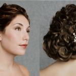 Hochzeit Frisuren Ideal Für Lange Und Dicke Haare, Viel Haar Spangen Bindung Oder Komplex, Ein Blumenmotiv Auf Dem Haar Bilden