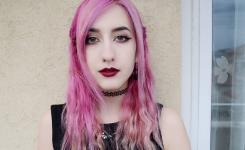 Aktuell bilder pink frisuren zum nachmachen lange haare Gerade Haar ohne Pony