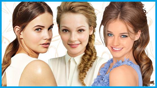 Permalink to Einfache und gute Frisuren konfirmation lange haare bilder