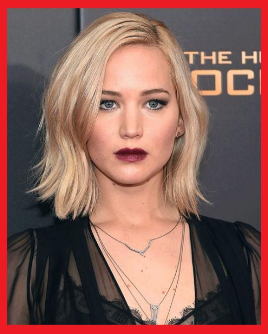 Permalink to Jennifer Lawrence mit frisuren damen mittellang