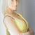 Mittellange haare frisuren für schmales gesicht Frau mit einem lässigen Stil