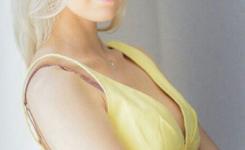 Lässigen frisuren für schmales gesicht lange blond haare geeignet für die Arbeit im Büro